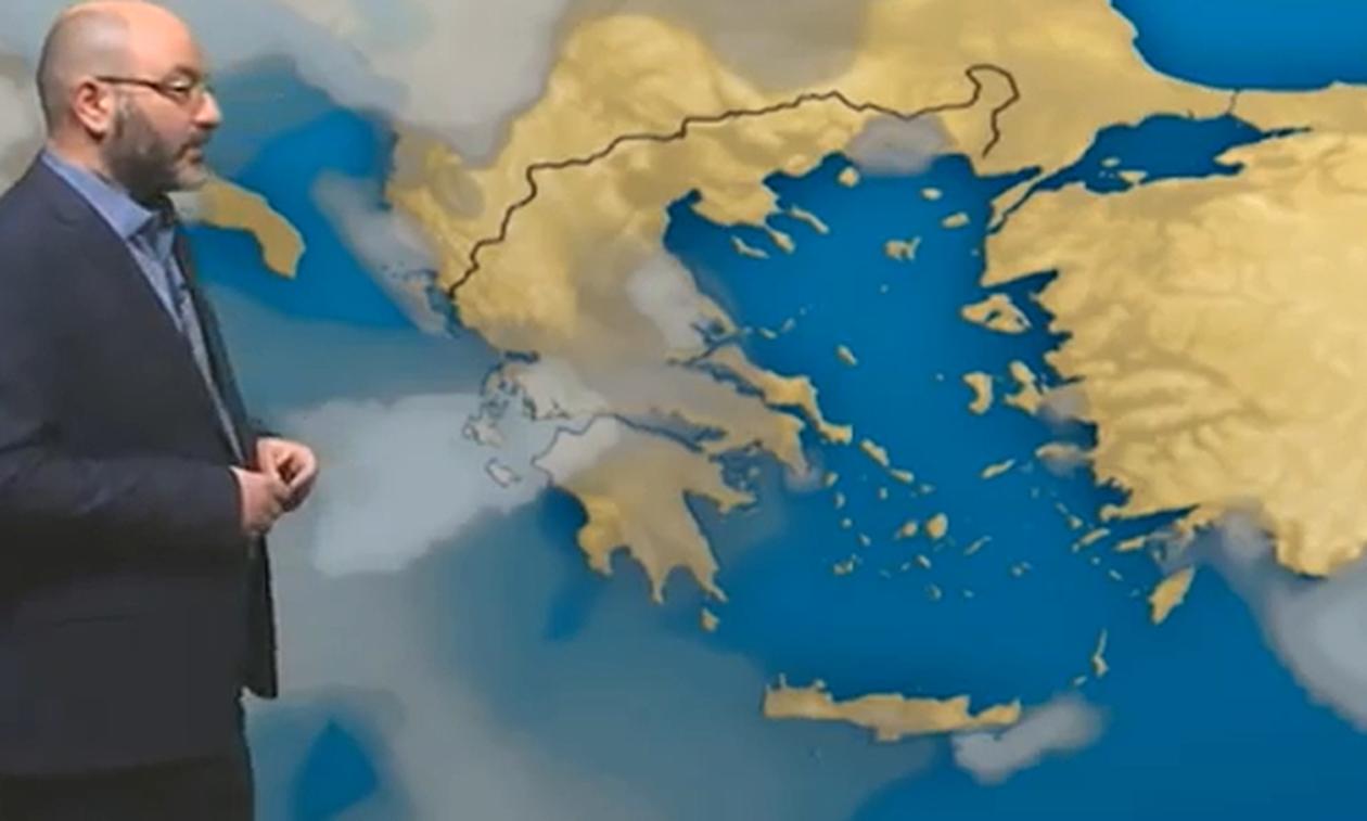 Ο καιρός το τριήμερο και η ψυχρή εισβολή της Τρίτης! Η ανάλυση του Σάκη Αρναούτογλου (video)