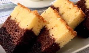Συνταγή για πεντανόστιμο ombre κέικ (vid)