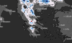 Καιρός: Καρέ - καρέ η ψυχρή εισβολή της Τρίτης! Πού θα χιονίσει (video)