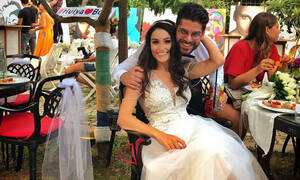 Φωτογραφίες από τον γάμο υπερπαραγωγή του Bora, του Τούρκου παίχτη του Survivor (pics)