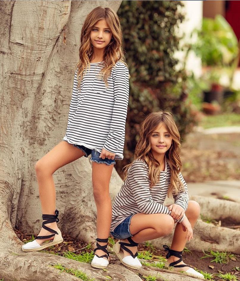fdd66603028 Αυτές οι 7χρονες δίδυμες είναι τα ομορφότερα κορίτσια στον κόσμο ...