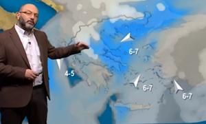 Καιρός: Το πέταγμα του χαρταετού και οι χιονοπτώσεις της Τρίτης! Η ανάλυση του Σάκη Αρναούτογλου...