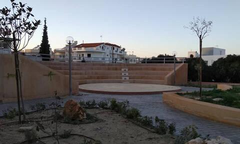 Εικόνες - σοκ στην Κρήτη: Μπήκαν στο καινούριο πάρκο κι έφυγαν με κλάματα (pics)
