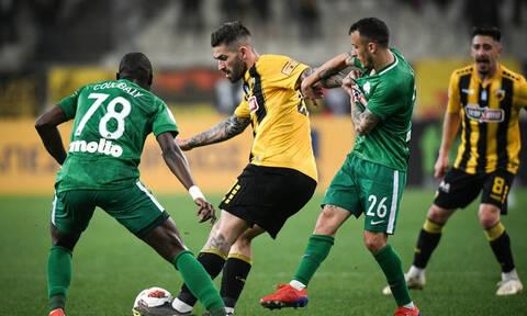 ΑΕΚ - Παναθηναϊκός 0-0: Αλληλοεξουδετερώθηκαν και μοιράστηκαν βαθμούς