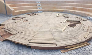 Κρήτη: Άγνωστοι κατέστρεψαν πάρκο λίγο πριν τα εγκαίνιά του