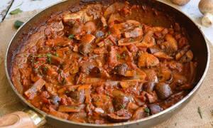 Η συνταγή της ημέρας: Μανιτάρια Bourguignon