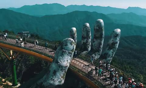 Aυτή η γέφυρα θα μας βάλει σε σκέψεις για τα διόδια Ρίου-Αντιρρίου!