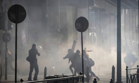 «Μύρισε» Χόλιγουντ στο Σύνταγμα: «Διαδηλώσεις», «συγκρούσεις» με τα ΜΑΤ και «χημικά» (pics)