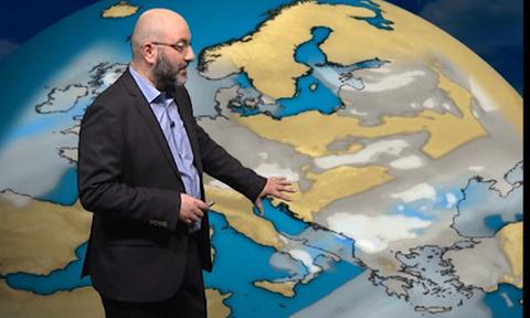 Καιρός: Καταιγίδες, χιόνια και θυελλώδεις άνεμοι! Η ανάλυση του Σάκη Αρναούτογλου (video)