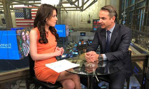 Μητσοτάκης στο CNNi: Επενδυτική έκπληξη η Ελλάδα τα επόμενα τρία χρόνια