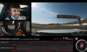 Δείτε τον Fernando Alonso να οδηγεί τη νέα Toyota Supra