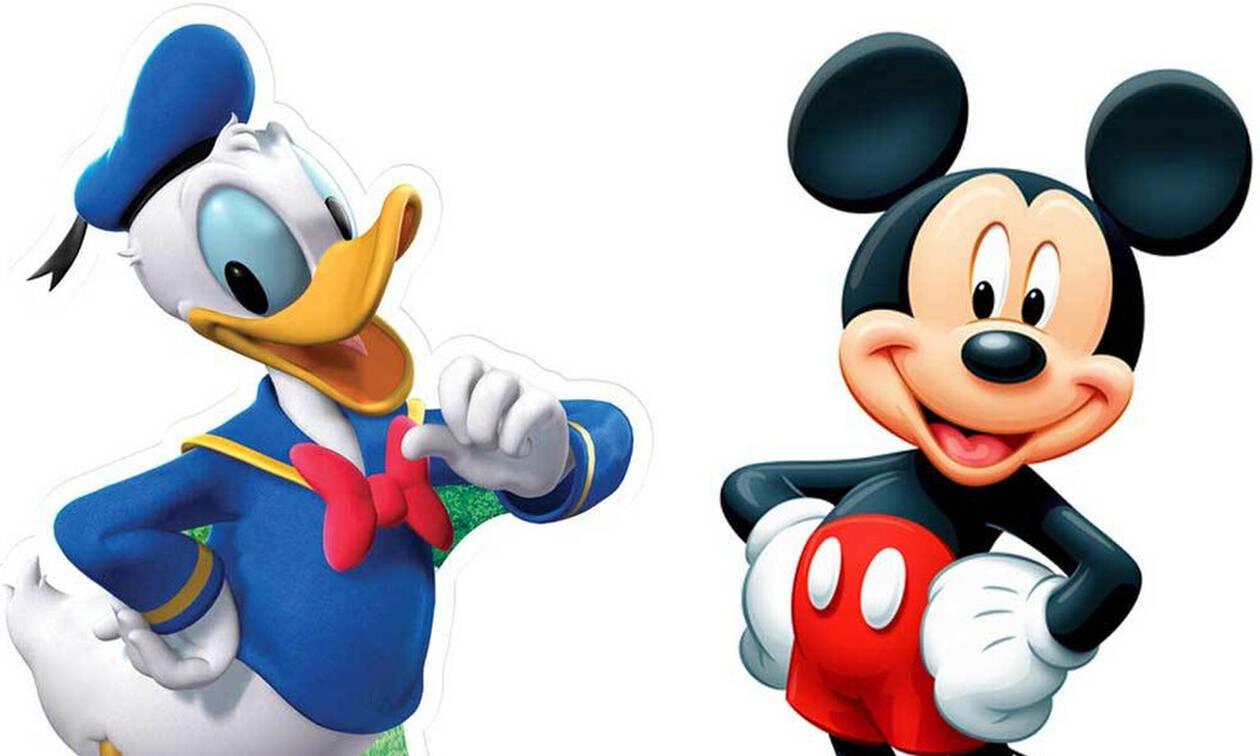 Το μεγάλο μυστικό των Ντόναλντ Ντακ και Μίκι Μάους!
