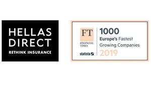 Η Hellas Direct στη λίστα FT 1000 των Financial Times με τις ταχύτερα αναπτυσσόμενες εταιρίες