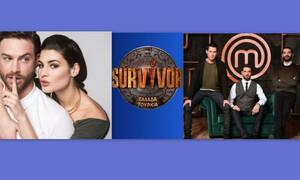 Τηλεθέαση: MasterChef – Survivor – To Τατουάζ: Ποιο πρόγραμμα έκανε μονοψήφια;