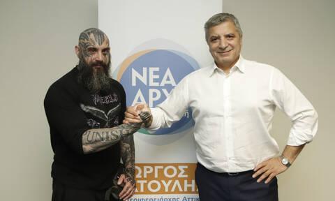 Εκλογές 2019: O ακτιβιστής- φιλόζωος Παναγιώτης Μήλας υποψήφιος με τον Γιώργο Πατούλη