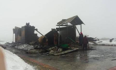 Ακέραια παρέμειναν λείψανα Αγίου μετά από φωτιά στη Ρωσία