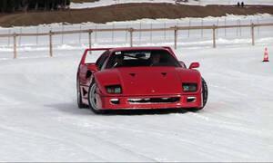 Δείτε drift στο χιόνι με πανάκριβα και σπάνια super cars
