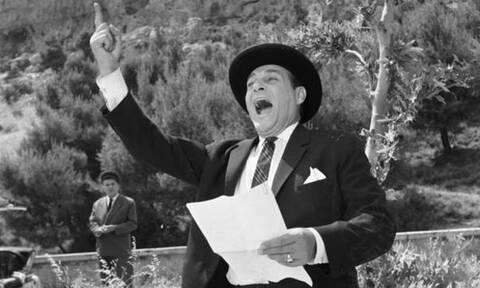 Λάμπρος Κωνσταντάρας: Ο άρχοντας του ελληνικού κινηματογράφου (vids)