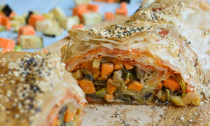 Η συνταγή της ημέρας: Στρούντελ λαχανικών