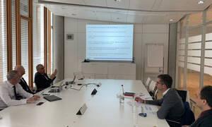 Εκλογές 2019: Στο Λουξεμβούργο ο Κ. Μπακογιάννης - Συναντήθηκε με στελέχη της Ευρωπαϊκής Τράπεζας