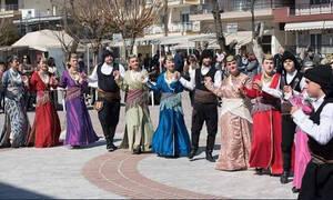 Ποντιακό αέρα στα Κούλουμα της Σίνδου Θεσσαλονίκης έφερε η Εύξεινος Λέσχη Χαρίεσσας