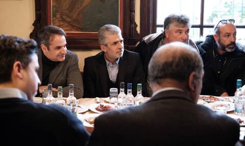 Μυτιλήνη: Στο Κέντρο Υποδοχής Μεταναστών της Μόριας ο Μητσοτάκης