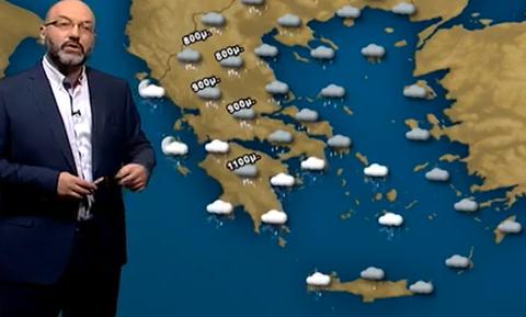 Καιρός: Η εξέλιξη της κακοκαιρίας, οι χιονοπτώσεις της ημέρας και η... ζέστη που έρχεται (video)
