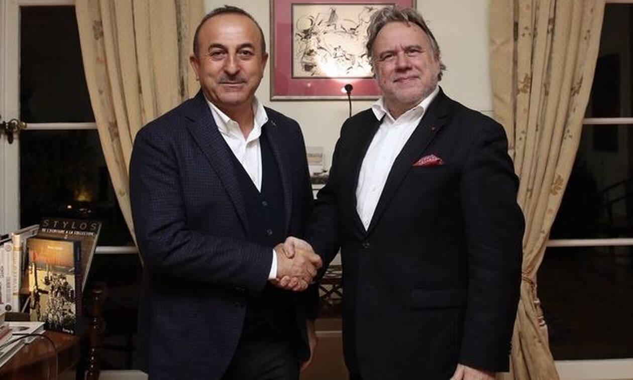 В Брюсселе состоялась встреча министров иностранных дел Турции и Греции