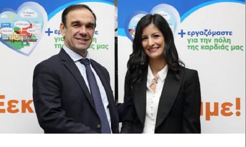 Εκλογές 2019: Την Μαρία Μπούρα-Ρογκοπούλου καλωσόρισε στην παράταξή του ο Νίκος Χιωτάκης