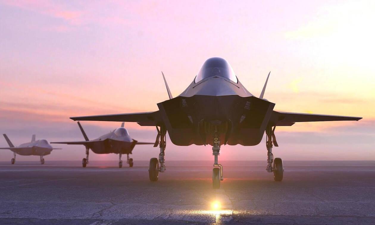 Άσκηση «Ηνίοχος»: Για πρώτη φορά στην Ελλάδα F-35