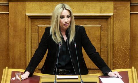 Συνταγματική αναθεώρηση - Γεννηματά: ΣΥΡΙΖΑ και ΝΔ εργαλειοποίησαν το θέμα του ΠτΔ