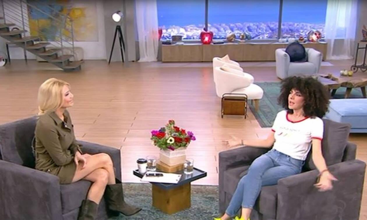 Άφωνη η Σολωμού με την Σκορδά: Δείτε τι την ρώτησε η παρουσιάστρια!