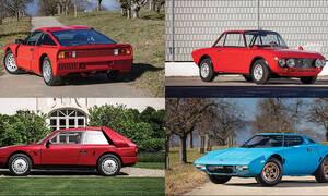 Σε δημοπρασία τέσσερα μοναδικά αγωνιστικά της Lancia