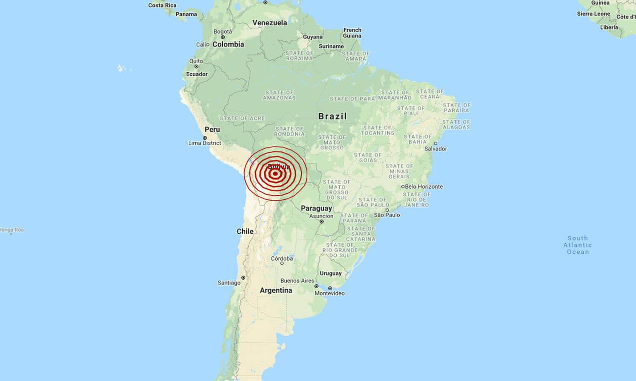 Σεισμός 6,3 Ρίχτερ συγκλόνισε τη Βολιβία