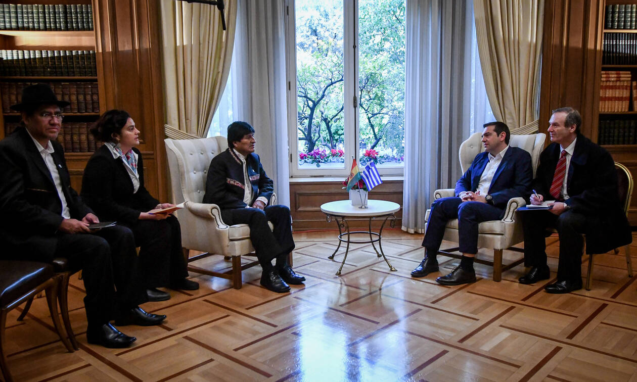 Morales invited Tsipras to visit Bolivia