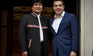 Ципрас и Моралес договорились вместе бороться за лучший мир