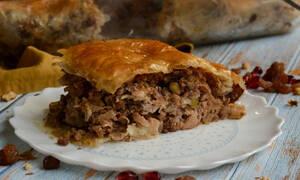 Η συνταγή της ημέρας: Πίτα με leftovers