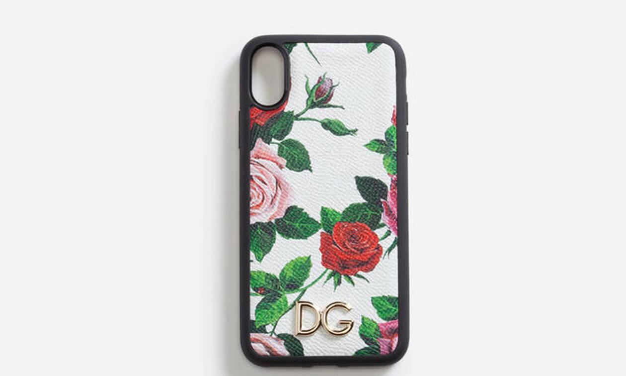 Oι νέες ανοιξιάτικες θήκες κινητών του οίκου Dolce & Gabbana
