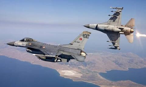Αναχαιτίστηκαν τουρκικα F-16 πάνω από ελληνικά νησία