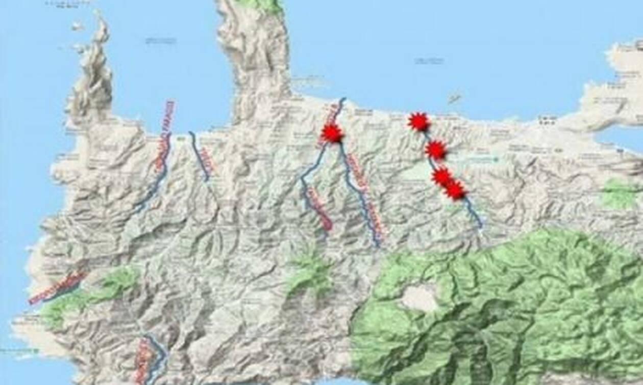 Σοκ: Οι βροχές άλλαξαν το ΧΑΡΤΗ της Κρήτης
