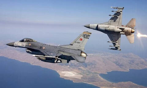 Pair of Turkish fighter jets enter Athens FIR without submitting flight plan