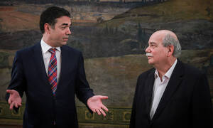 We resolved an old outstanding issue at Prespes, says Voutsis after meeting Dimitrov