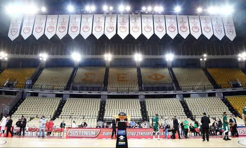 Διοίκηση ΣΕΦ: «Το γήπεδο θα παραμείνει κλειστό για το Ολυμπιακός-Παναθηναϊκός»