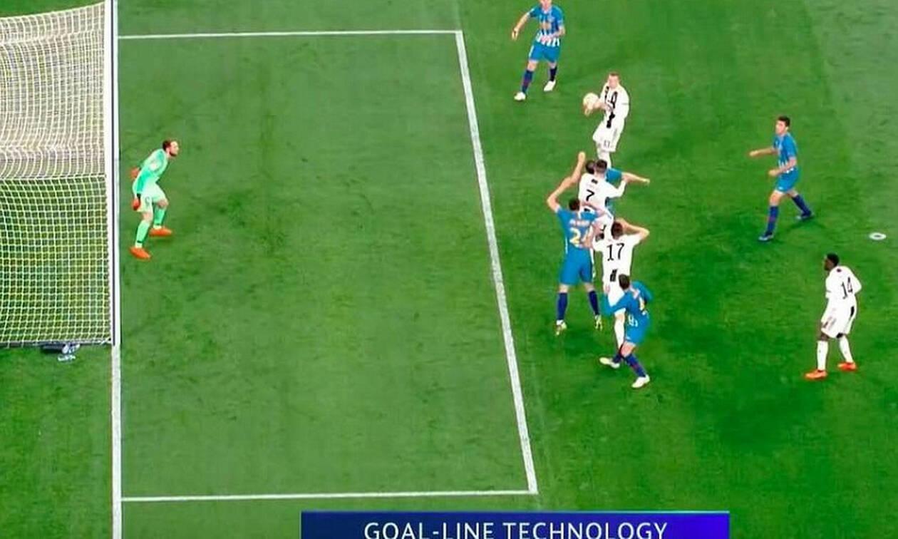 Σκάνδαλο ή θεωρία συνωμοσίας: Το γκολ του Κριστιάνο Ρονάλντο ανάβει «φωτιές» (video&photos)