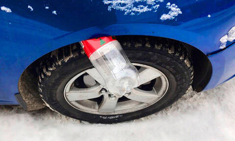 Προσοχή: Αν δεις αυτό στο αυτοκίνητό σου, πάνε να σε ληστέψουν!