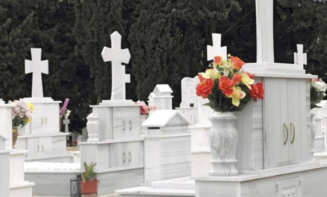 Φρίκη: Την έθαψαν όρθια σε πλαστικό φέρετρο στο Γ' Νεκροταφείο