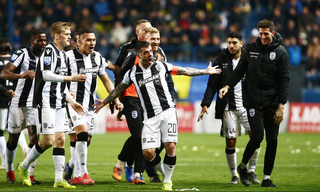 Παναιτωλικός-ΠΑΟΚ 1-2: Ακουμπάει το Πρωτάθλημα