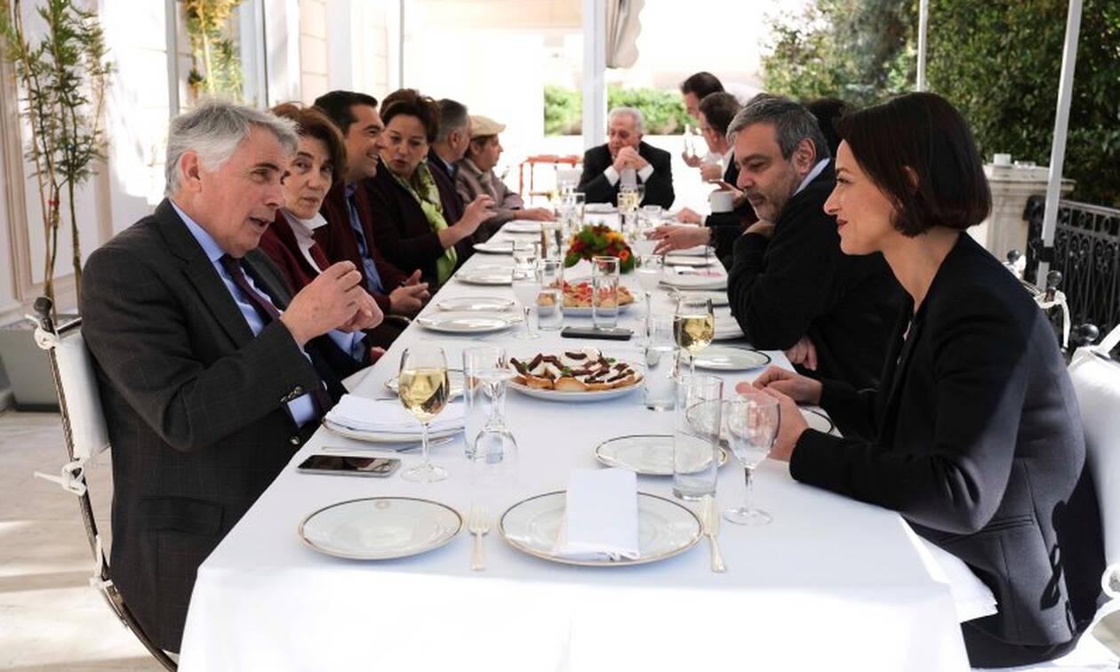 Στο Μέγαρο Μαξίμου για γεύμα οι νέοι υποψήφιοι ευρωβουλευτές του ΣΥΡΙΖΑ