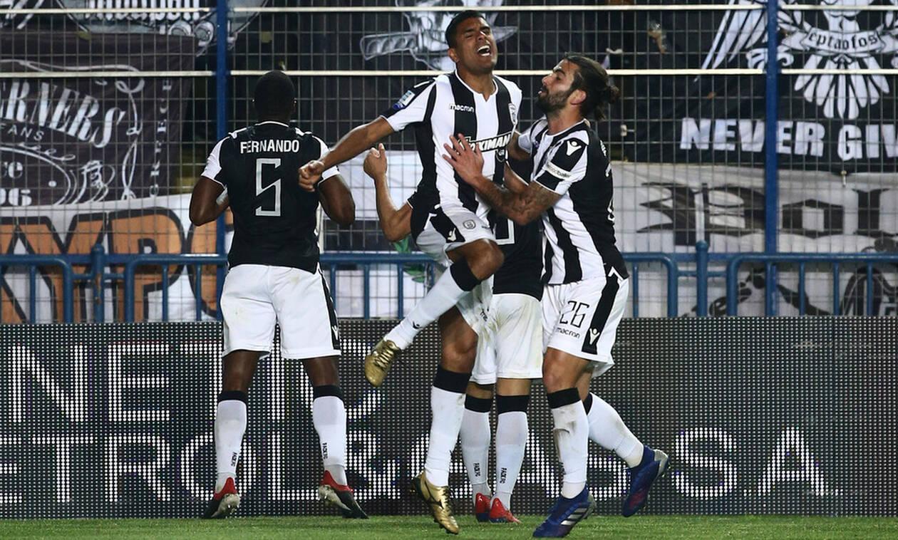 Super League: Η βαθμολογία μετά από το «διπλό» του ΠΑΟΚ στο Αγρίνιο (photo)