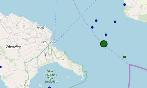 Σεισμός 4,5 Ρίχτερ ταρακούνησε τη Ζάκυνθο